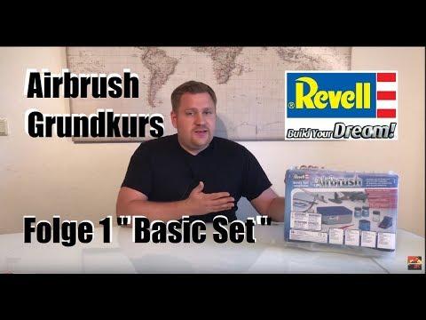 "Revell Airbrush Grundkurs Folge 1 ""Basic Set"" |Panzerschmied"