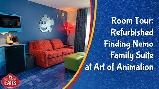 Art Of Animation - Remodeled Finding Nemo Family Suite - Room Tour