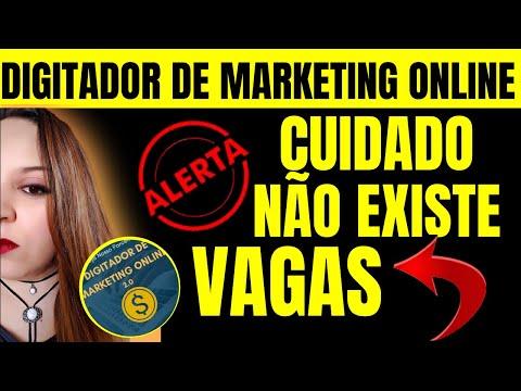 Digitador de Marketing Online DEPOIMENTO! Digitador de Marketing Online! ATENÇÃO RECADO IMPORTANTE!