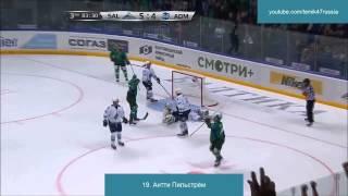 """Все голы ХК """"Салават Юлаев"""" в сентябре"""