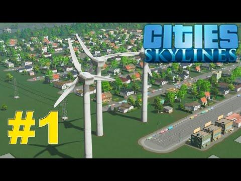 Cities: Skylines - лучший градостроительный симулятор.