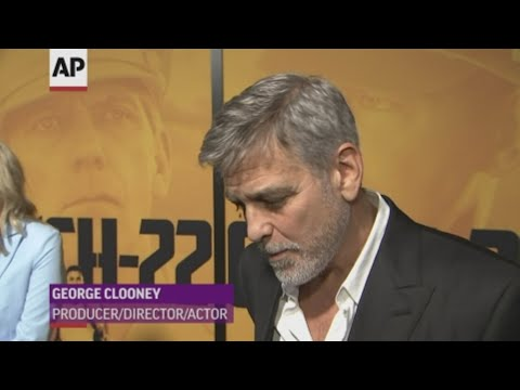 George Clooney thinks media should be more careful in their coverage of Meghan Markle. while also praising his wife Amal's role in freeing two detained journalists from a Myanmar prison. (May 8)