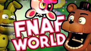 FNAF World | FIVE NIGHTS AT FREDDY'S CUTE EDITION!!