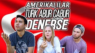 Americans Try TURKISH SNACKS 🇺🇸🇹🇷|| Amerikalılar Türk Abur Cuburları Denerse