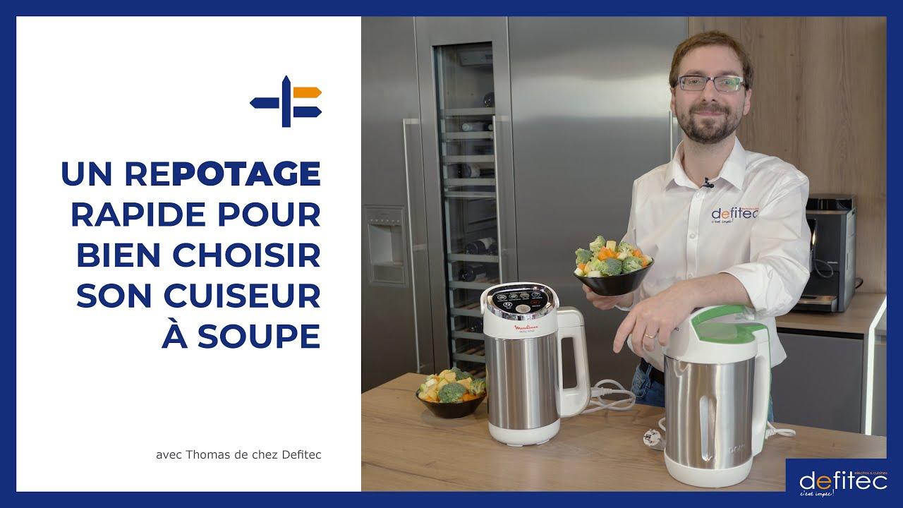 Guide d'achat et Comparatif robots cuiseurs à soupe Domo et Moulinex