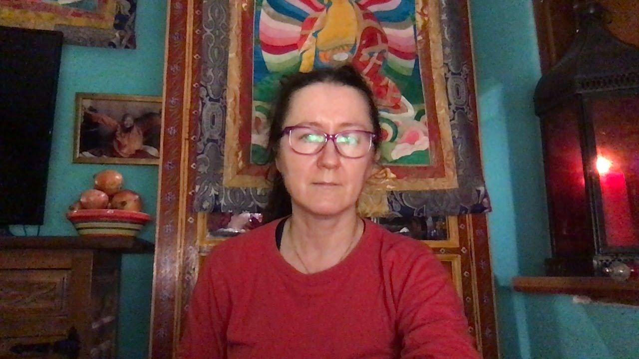 Lama Gangchen Tantric Self-Healing 2- Commentary by Lama Caroline - part 23  (EN)