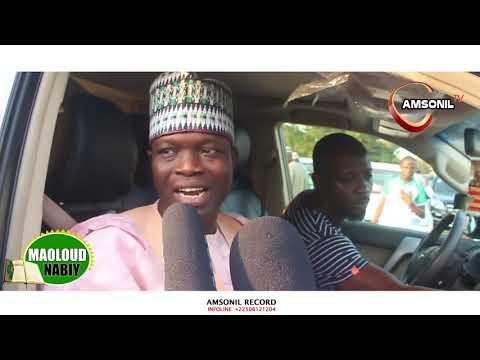 Arrival Of Our Spiritual Father Sheik Muydeen Imam Ofa by Amsonil Tv Abidjan