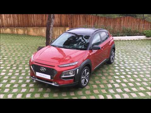 Hyundai Kona First Drive in Barcelona, Spain