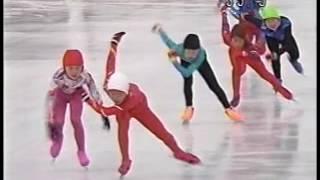 ▲2003/02/11▲足寄大会TV版2年女500スピードスケート