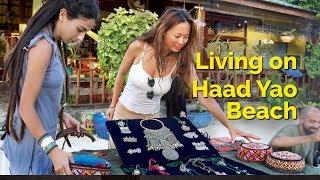 Living on Haad Yao Beach