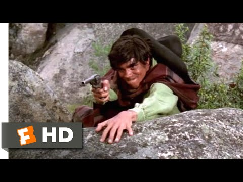 Guns of the Magnificent Seven (1969) - Stick 'Em Up! Scene (7/9) | Movieclips