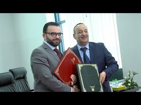 العرب اليوم - شاهد: توقيع اتفاقية توأمة بين القدس عاصمة دائمة للثقافة العربية ووجدة