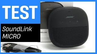 BOSE SoundLink Micro im Test - Mini Lautsprecher mit gutem Bass und Befestigungsmöglichkeit