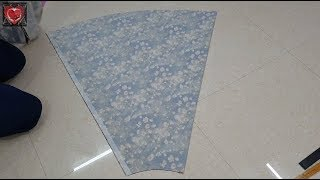 How To Make Skirt Cutting In Very Simple Way