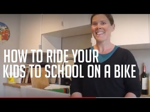 A Mom Offers Tips On How To Ride With Kids In A Cargo Bike