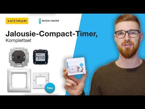 Einbau und Installation – Jalousie-Compact-Timer | Busch Jaeger