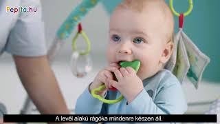 Kinderkraft Milyplay Játszószőnyeg + Ajándék labdák #szürke