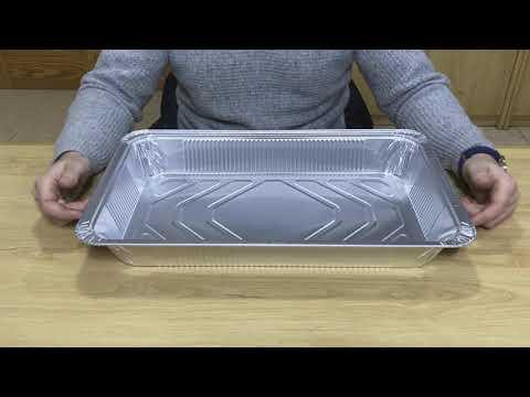 Bandeja de aluminio grande