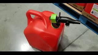 Costco! New 5 Gallon Gas Can W/ Smart Control Spout! $15!!!