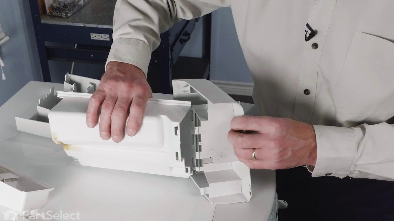 Replacing your Whirlpool Washer Dispenser Drawer Handle