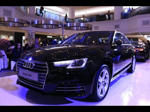 The All New Audi A4 2016 Launch