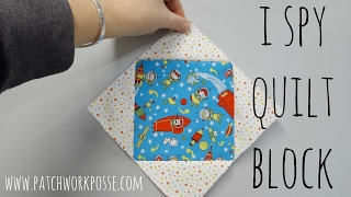 I Spy Quilt Block Tutorial And How To