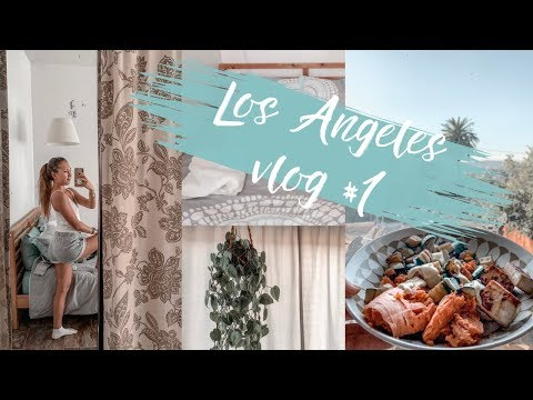 LA VLOG #1 | Grocery Shopping + House Tour | Swiss Girl in Los Angeles