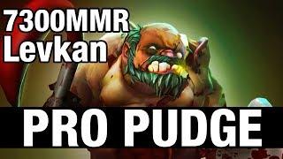 PRO PUDGE - Levkan 7300 MMR - Dota 2