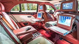 10 Most Luxurious Car Interiors