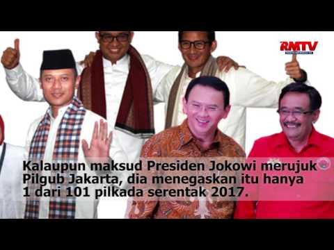 Alasan Jokowi Minta Agama & Politik Dipisahkan Tak Berbasis Fakta