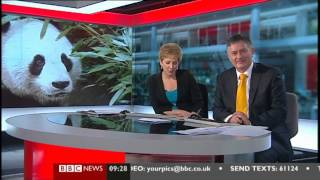 BBC News Blooper  Simon McCoy 0927 06 March 2013