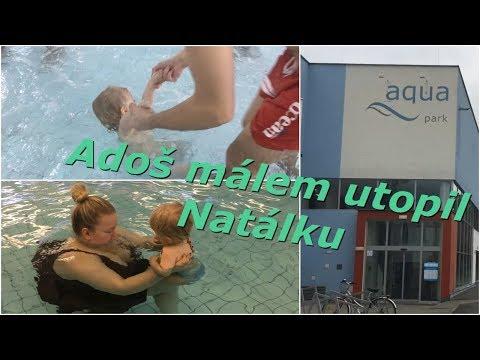 Adoš málem utopil Natálku | MamaVlog
