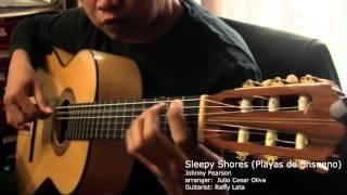 Sleepy Shores - J. Pearson (J.C. Oliva) Solo Classical Guitar