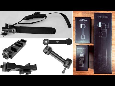 Despachetare accesorii originale pentru DJI Osmo Mobile