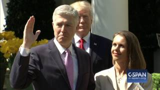 Judge Neil Gorsuch sworn in as Associate Justice of the Supreme Court (C-SPAN)