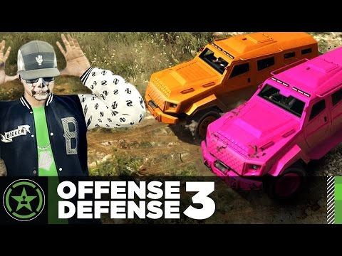 Let's Play - GTA V - Offense Defense: Close Encounters (#3)