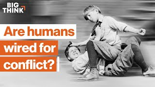 Are humans wired for conflict? Lord of the Flies vs. Charles Darwin | Rutger Bregman | Big Think