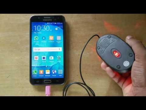 Samsung Galaxy J7 OTG test with Usb Mouse ᴴᴰ| J7 Prime | J7 6 | J7 Max | J7 PRO | ALL OTG SUPPORT