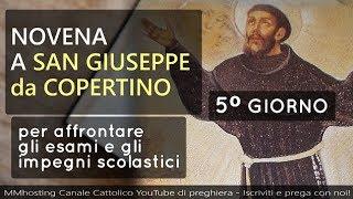 Novena A San Giuseppe Da Copertino   5 Giorno   San Giuseppe Amante Del Crocifisso, Prega Per Noi
