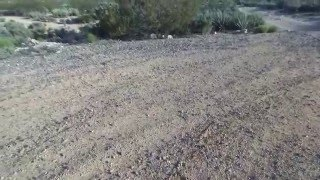 Parrot bebop drone GPS Flight Over Slaughterhouse Canyon ( Kingman Arizona )