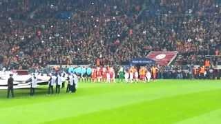 Galatasaray 3-2 Real Madrid   Şampiyonlar Ligi Müziği ve Seremoni HD