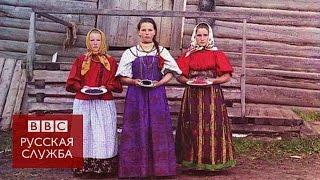 Первые цветные фотографии Российской империи