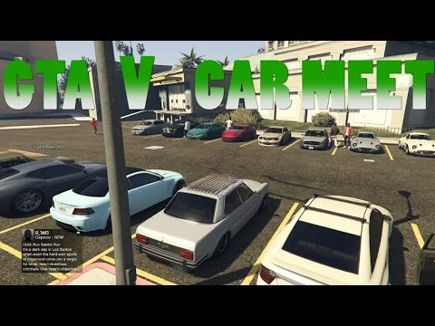 GTA 5 Online Car Meet And Cruise   |PS4|