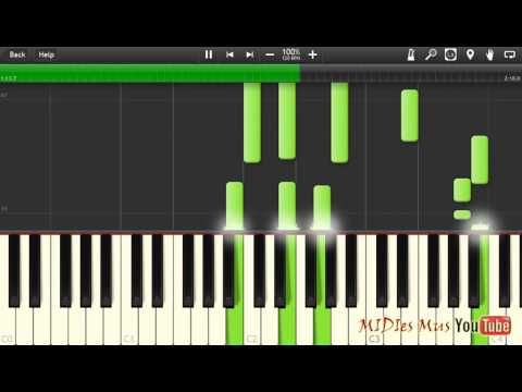 Баста - Сансара Piano Cover [Synthesia Piano Tutorial]