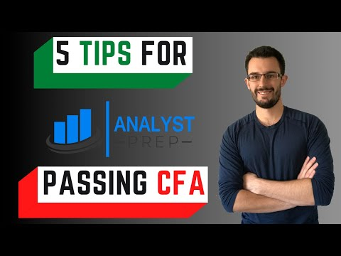 How to Prepare for the CFA level 1 Exam - YouTube