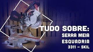 CONHEÇA A SERRA MEIA ESQUADRIA TELESCÓPICA SKIL - 3311