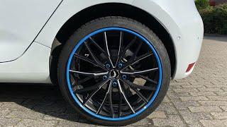 Renault Zoe Felge 18 Zoll und Felgenschutz Test