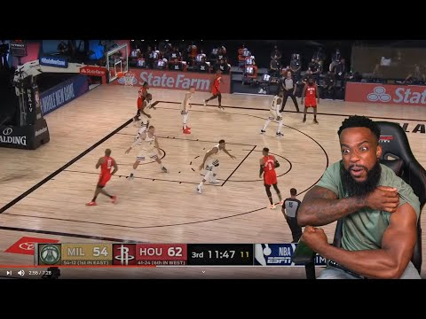 WEIGHT ROOM! Milwaukee Bucks vs Houston Rockets – Full Game Highlights | August 2, 2020