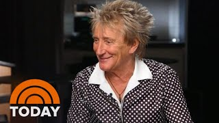 Gambar cover Rod Stewart Talks 'Blood Red Roses,' His Legendary Hair And More | TODAY