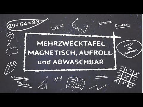 Stiefel-Verlag magnetische, aufrollbare Mehrzwecktafel